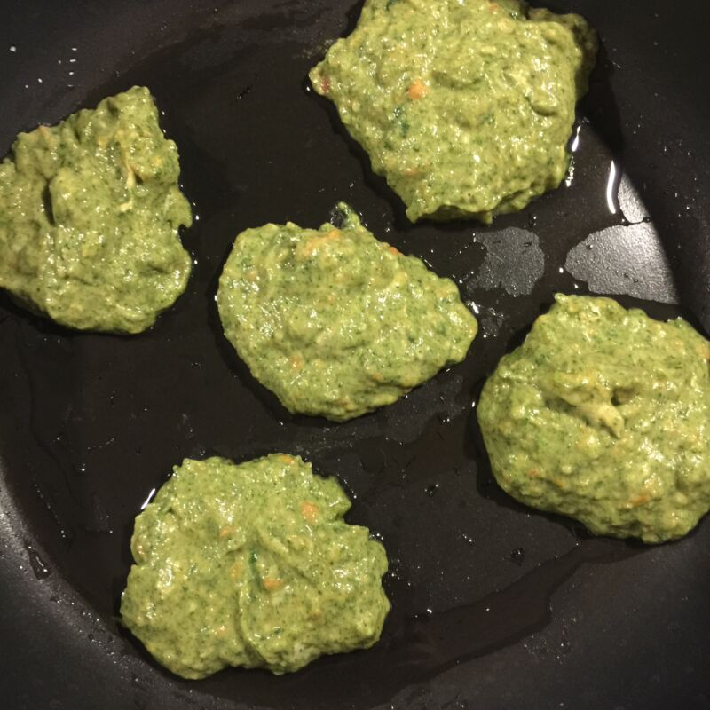 BLW fritters