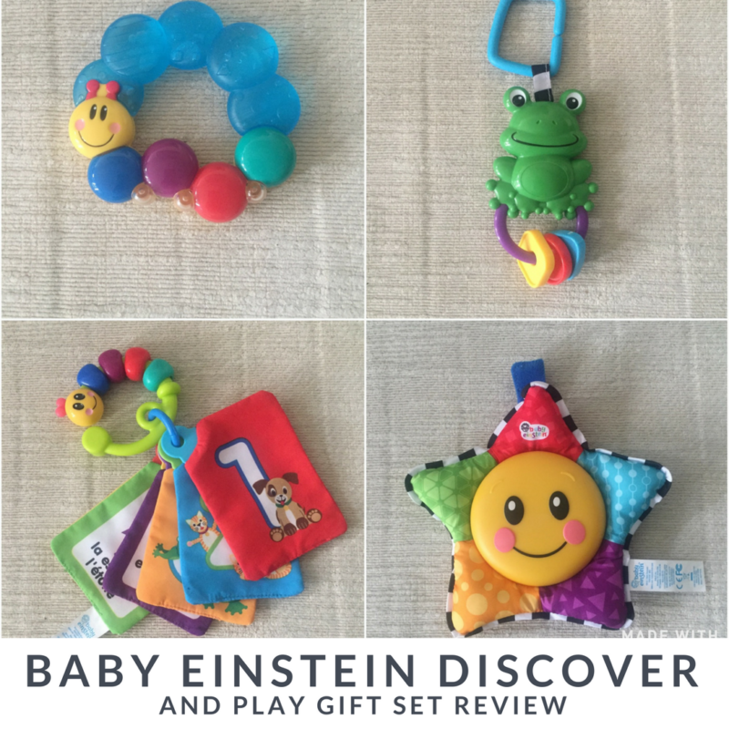 Review: Baby Einstein Discover & Play Gift Set