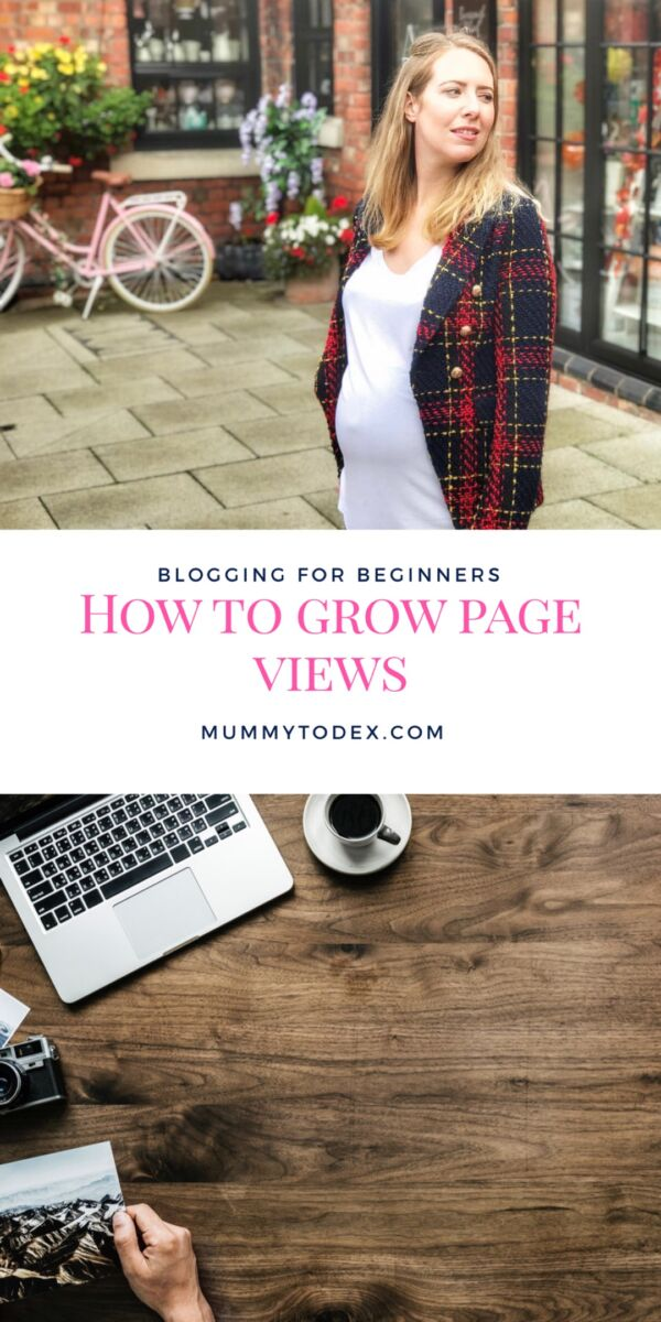 How to grow page views to your blog, advice for those who are new to blogging or are beginners in the blogging world. Views are critical to make your blog a success and here I describe what methods I use to grow my page views