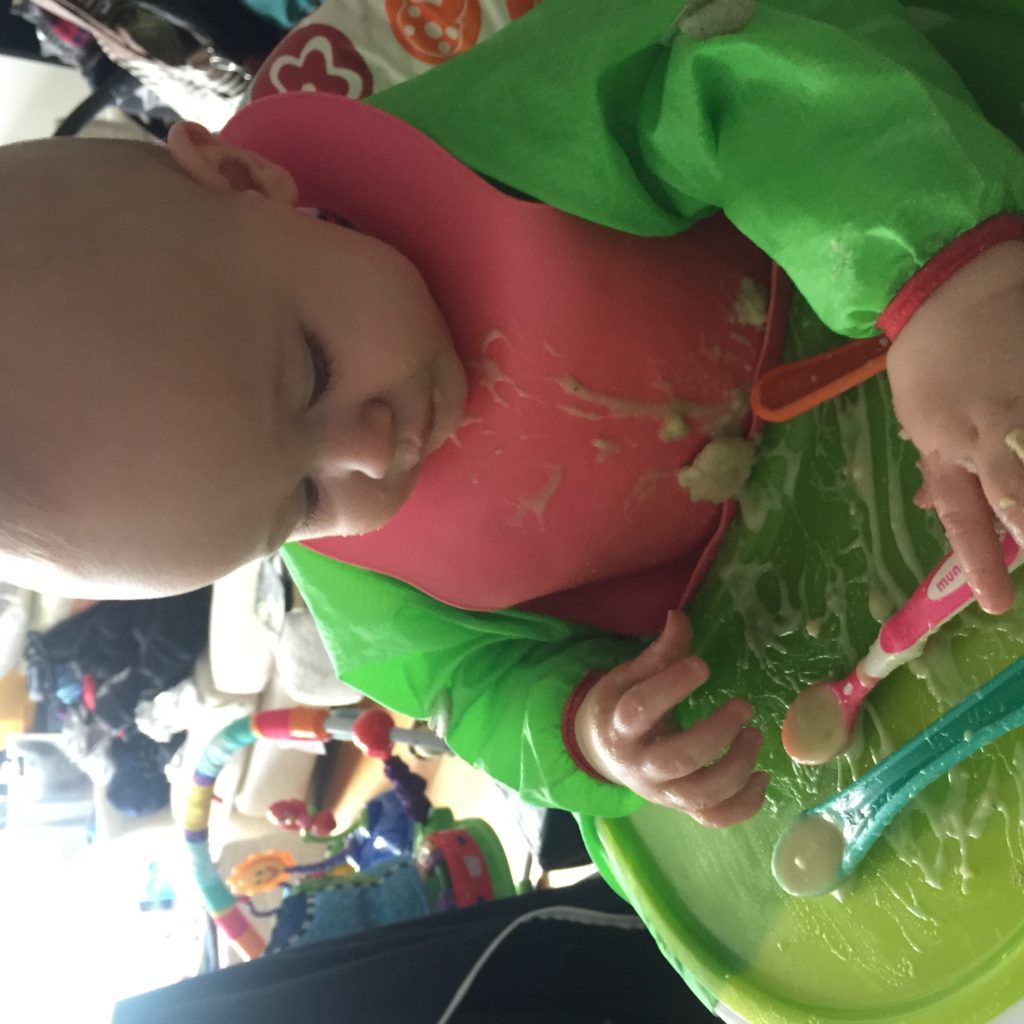 Leek and potato soup recipe perfect for baby led weaning. Another delicious BLw recipe to try with your little ones, super healthy and delicious too.