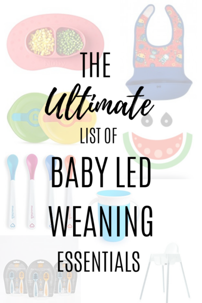 Baby Led Weaning Equipment: 11 Must Have Products
