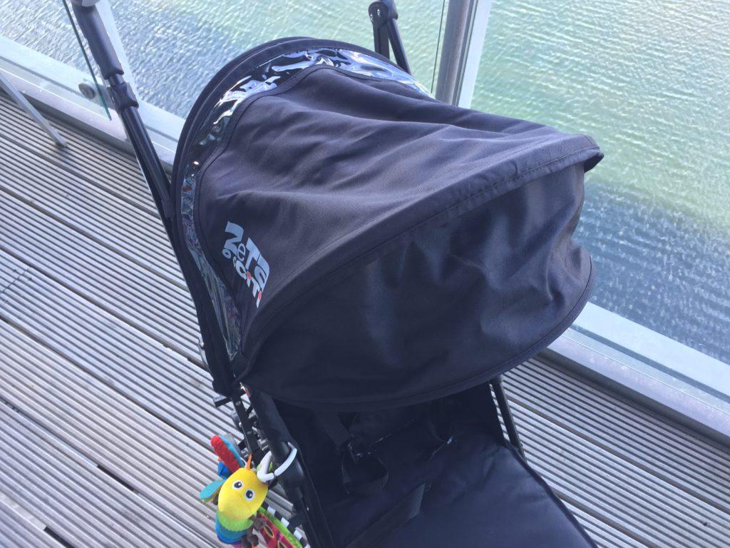 the zeta citi stroller's susnshade