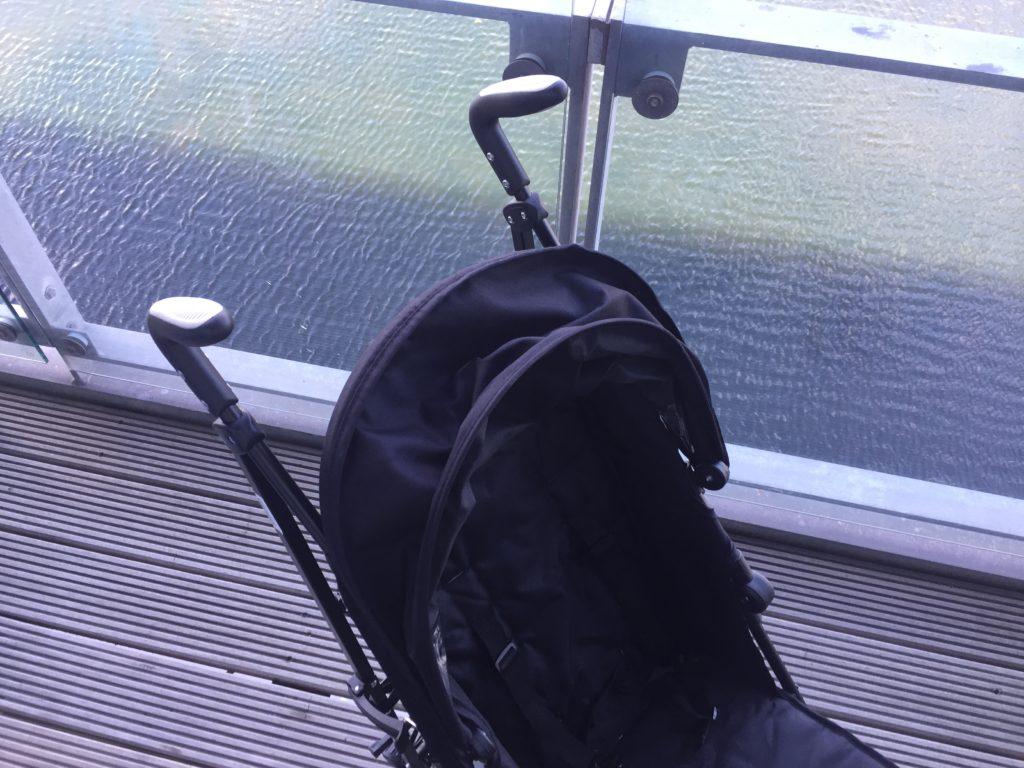 zeta citi stroller from above