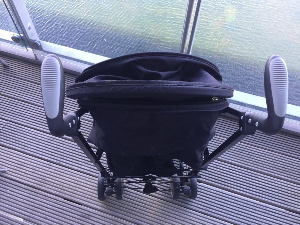 the zeta citi stroller handles