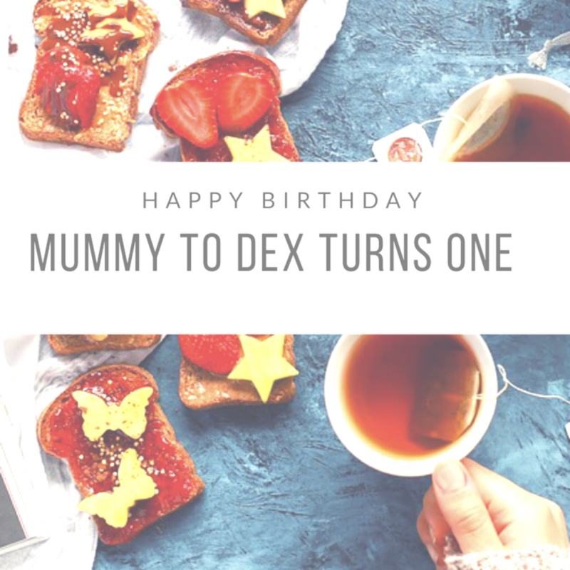 Happy Birthday! // Mummy to Dex Turns One