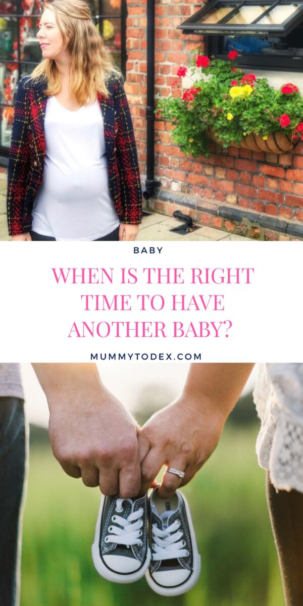 When is the right time to have another baby? It's been eighteen months since we had our first child, and although we want to have more, is there ever a right time to fall pregnant and complete your family?