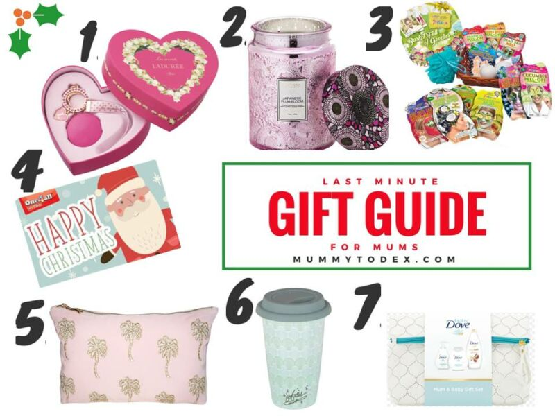 Last Minute Christmas Gift Guide for Mums