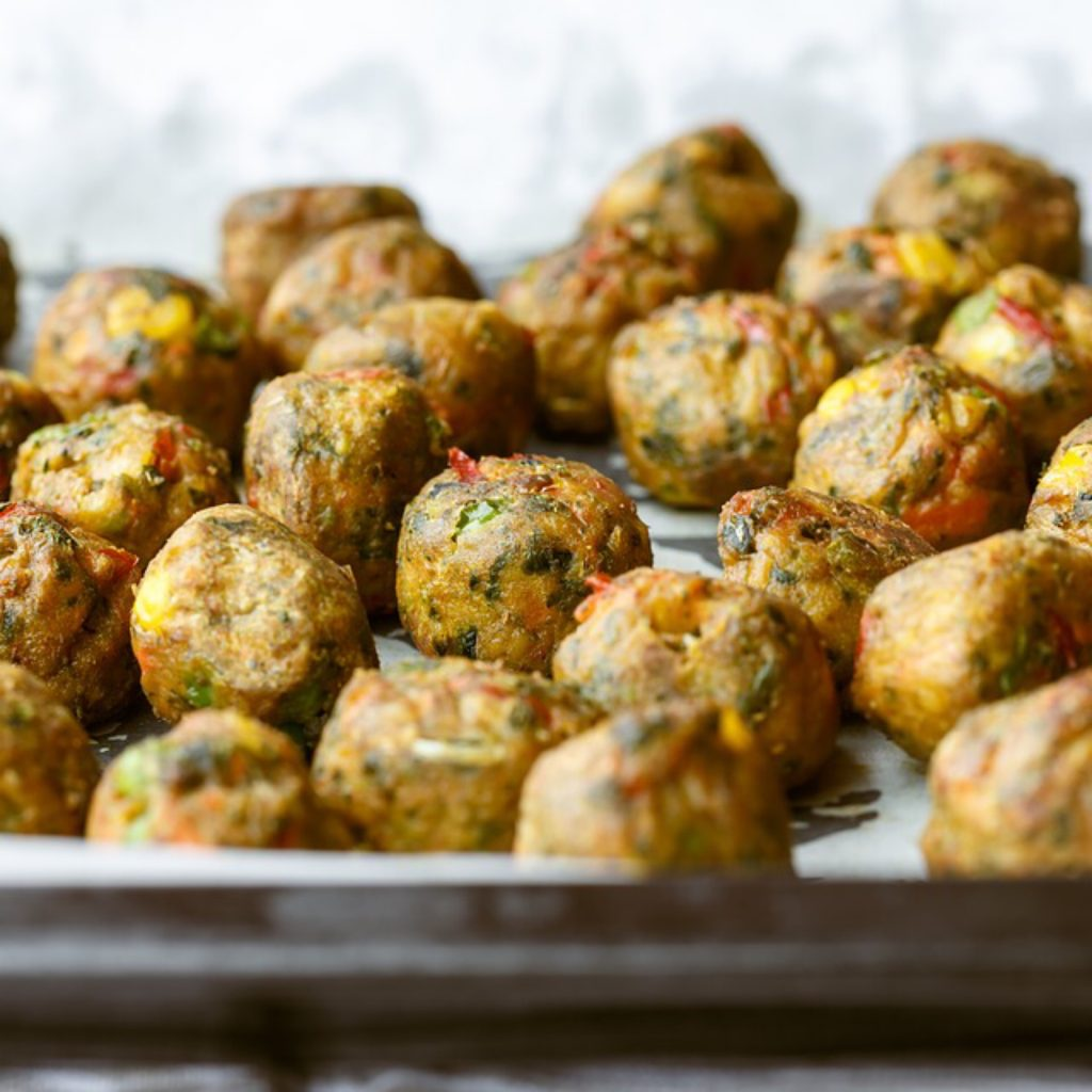 baby led weaning spanish food albondigas or meatballs