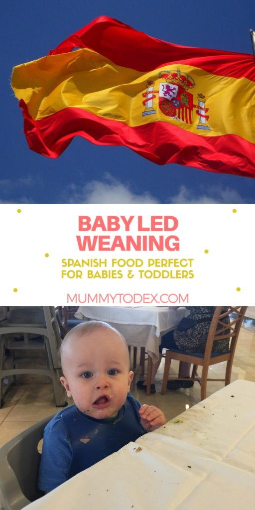 A list of yummy and delicious Spanish foods for baby and toddler to try in Spain. Foods perfect for baby led weaning (BLW) and beyond!