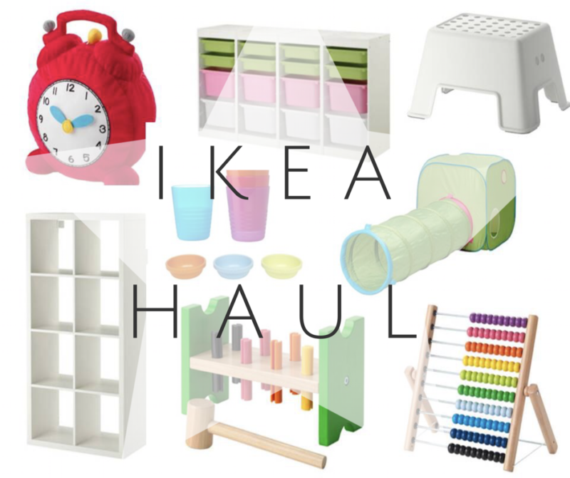 Ikea Haul: Perfect Toddler Purchases