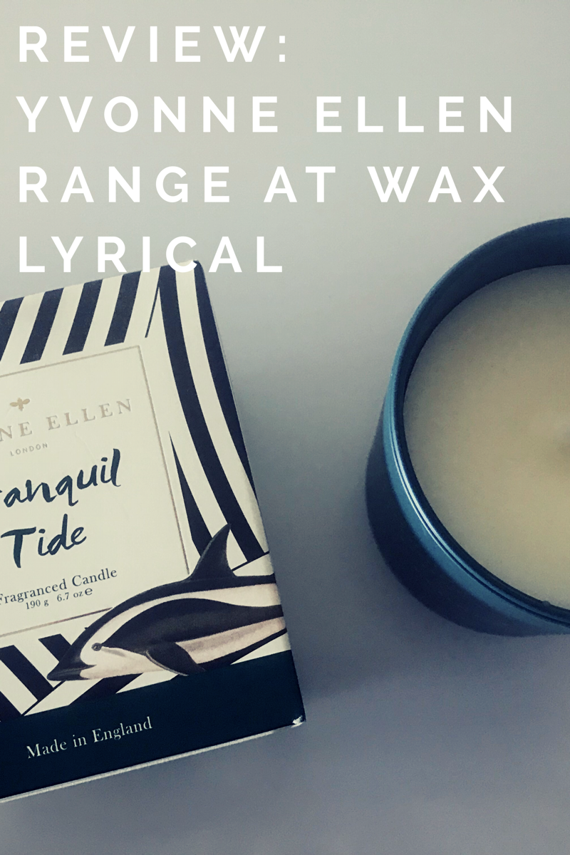 Review: The NEW Yvonne Ellen Range at Wax Lyrical   Ad