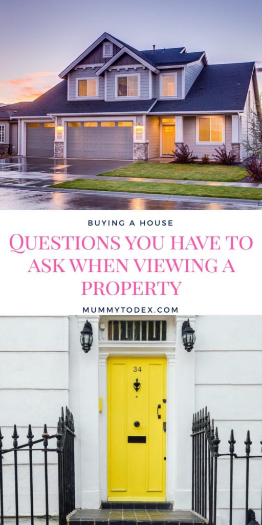 Buying a house can be one of the most stressful things you go through. Here we look at what questions you need to ask when viewing a property to make sure you know you're making the right decision in putting in an offer #housebuying #movinghome #ftb #firsttimebuyer