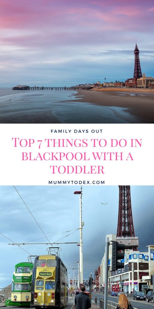 My favourite things to do in Blackpool with a toddler. Whether you're having a family day out in the North West in one of the best seaside towns or a little weekend away, this list provides all the best things to do on the beach, on Golden Mile and on the piers