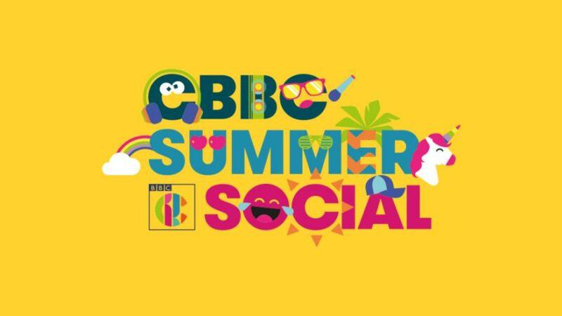 CBBC summer social logo