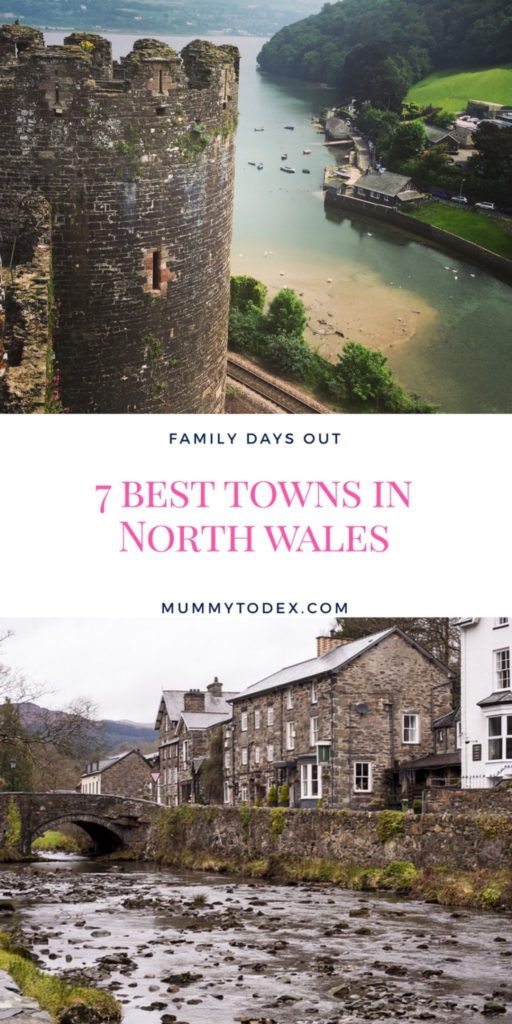 7 of the best towns in North Wales perfect got family days out, travel, sightseeing, beach days and mountain climbing. Must see towns in wales