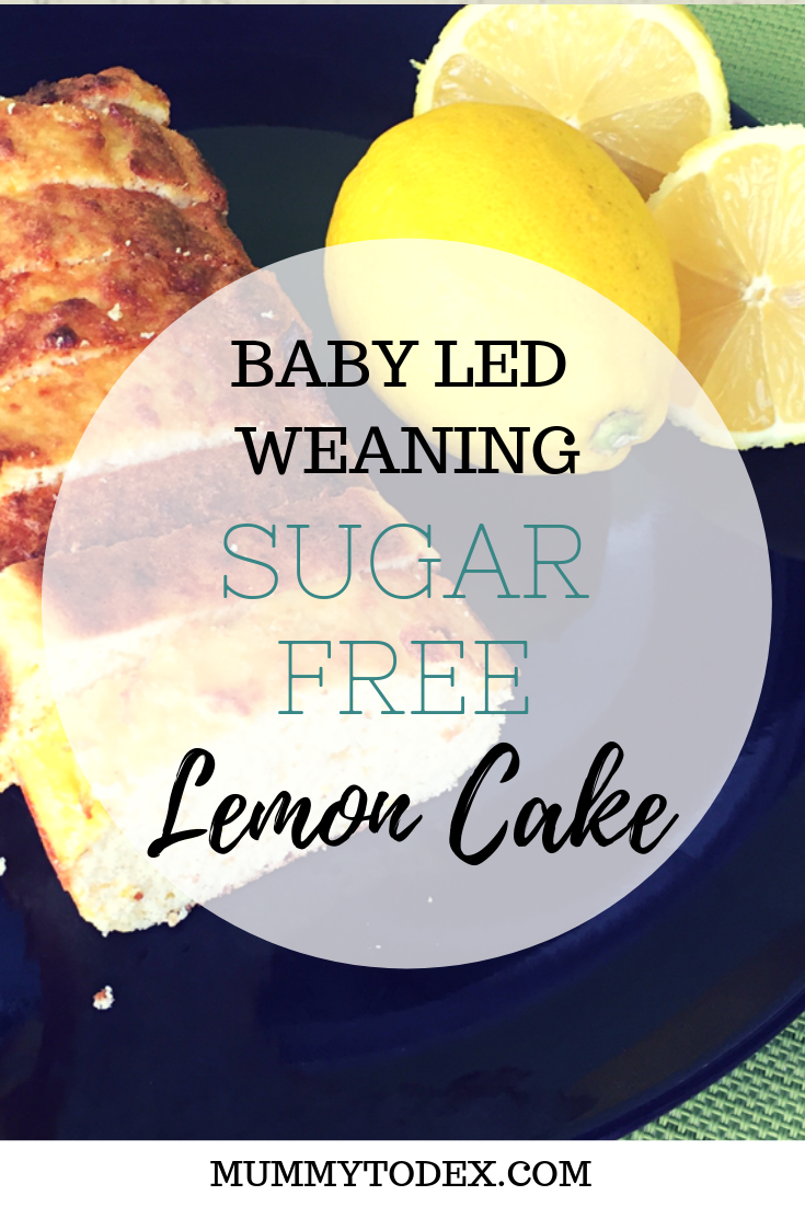 A recipe for baby led wenaing lemon cake, a gluten and sugar free cake that can b shared with the whole family. The perfect baby led weaning snack or baby led weaning dessert using coconut flour #blwideas #blwrecipes #babyledweaningrecipes #babyledweaning