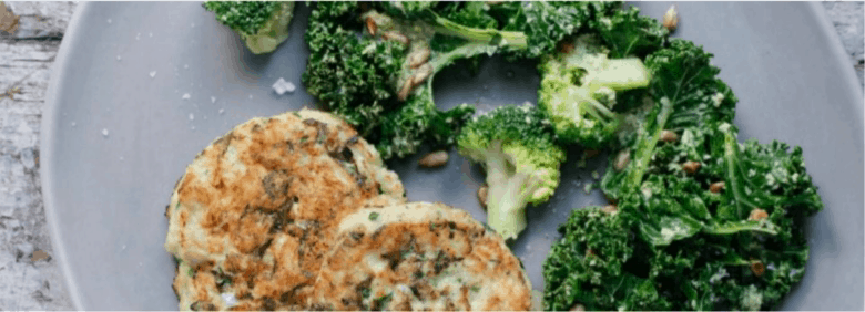 Baby Led Weaning Salmon Burgers with Broccoli and Kale