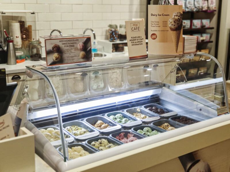 Ice cream available in Thornton's new store in Liverpool One