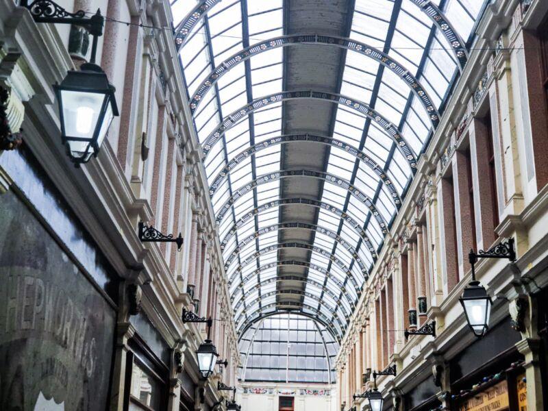 Hepworth Arcade glass ceiling