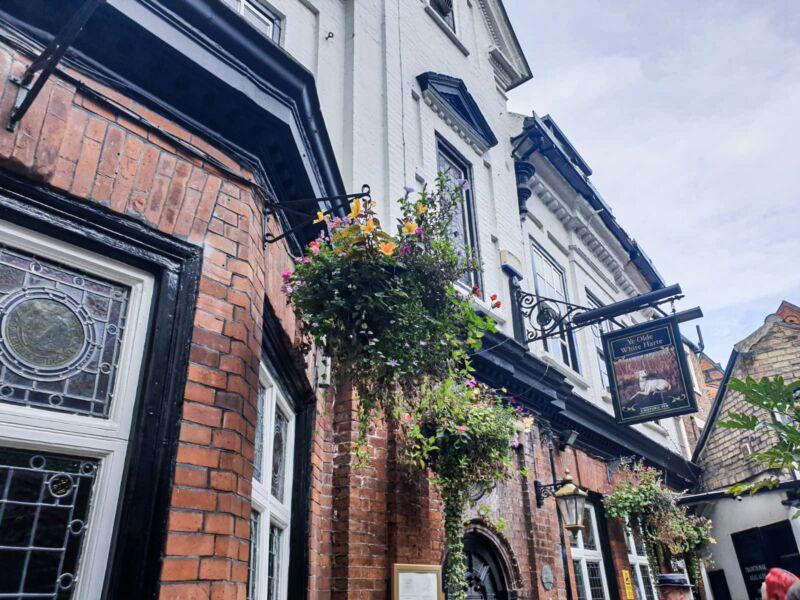 Ye olde white harte pub in hull