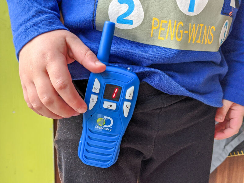 Review | Discovery Digital Walkie Talkies + GIVEAWAY [AD Gifted]