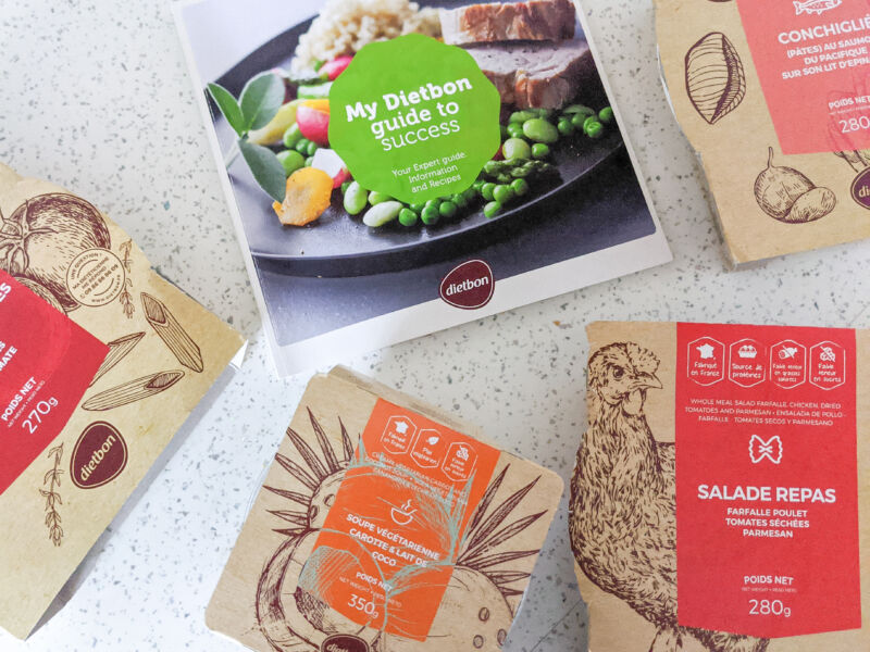 AD | Shifting the Baby Weight with DietBon Weight Loss Meals