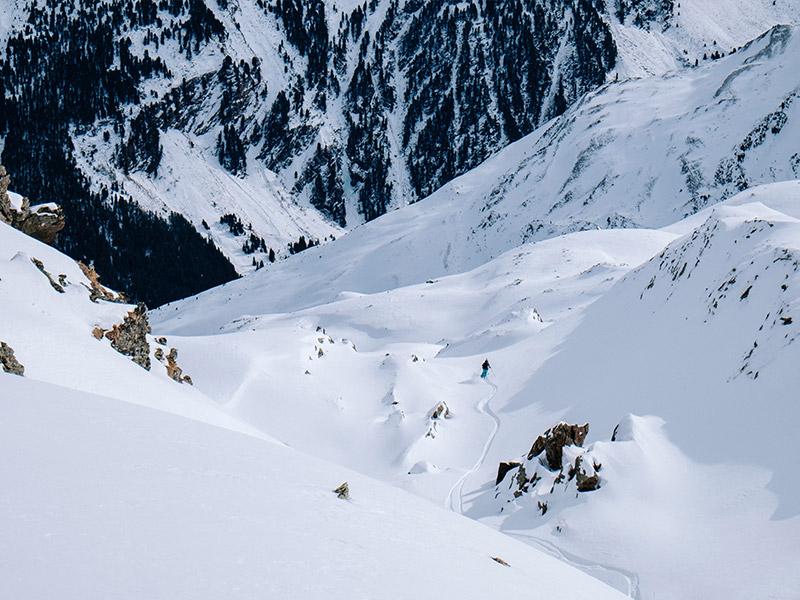 ski slopes in otztal austria