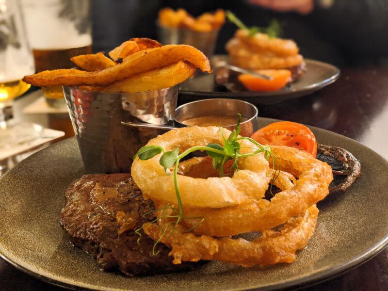 Steak at The Ship Inn Lathom