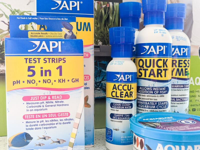 The range of products from API