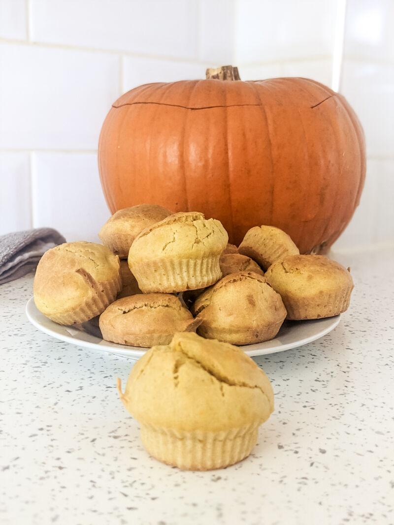 BLW pumpkin muffins