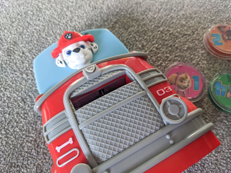 Paw Patrol count with Marshall Toy