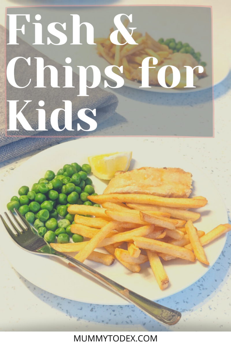 Looking for a delicious weekend treat for your kids? Try this fish and chips for kids! Simple to make and a truly amazing teatime treat for your kids and family. For more easy fish recipes for toddlers, visit Mummy to Dex blog