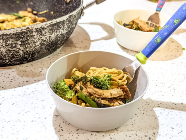 Chicken Noodles for Toddlers