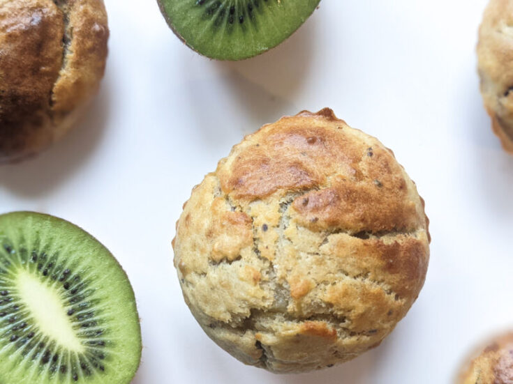 kiwi and banana muffins blw babies