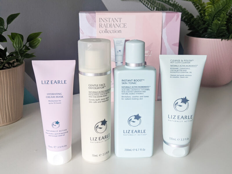 Liz Earle Instant Radiance collection