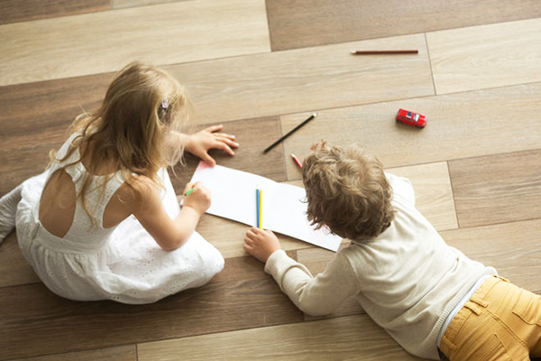 Vinyl Flooring is the Right Option for the Child's Bedroom